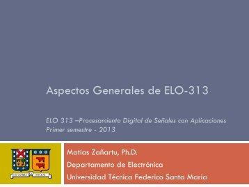 Aspectos Generales y Administrativos - Universidad Técnica ...