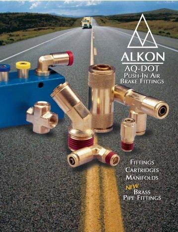 AQ-DOT Push-In Air Brake Fittings - Automatisation Pneumac Inc.