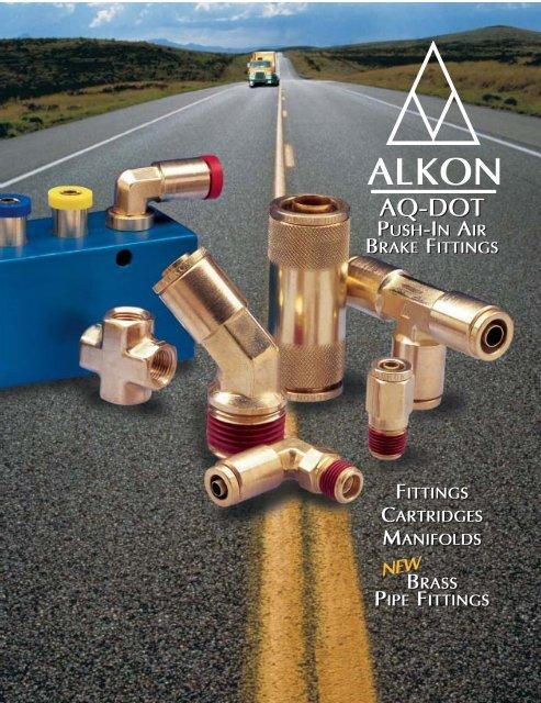 AQ-DOT Push-In Air Brake Fittings - Automatisation Pneumac Inc