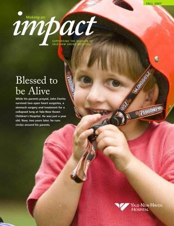 Impact FALL 2007 - Yale-New Haven Hospital