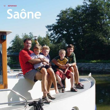 Saône: Vater-und-Sohn-Tour oder Zeit des Genießens - Kuhnle-Tours
