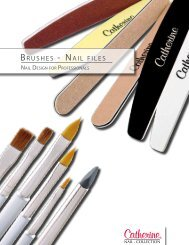 BRUSHES - NAIL FILES - Catherine Nail Collection GmbH