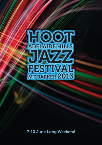 Download the program as a PDF - Hoot! Jazz Festival
