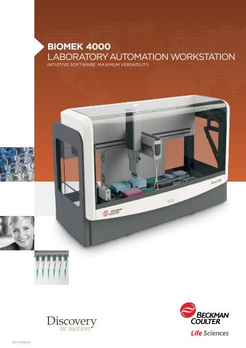 Biomek 4000 Laboratory automation Workstation - Beckman Coulter