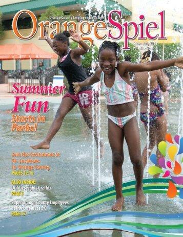 June - July 2011 • ORANGE SPIEL 1 - Orange County Gov FL