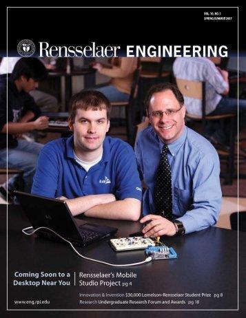 Coming Soon to a Desktop Near You Rensselaer's ... - Backwrite