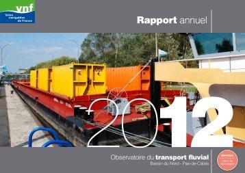 Observatoire 2012 - service navigation Nord-Pas de Calais