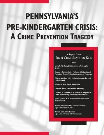 PA Pre-k 6-2-03.pdf - Fight Crime: Invest in Kids