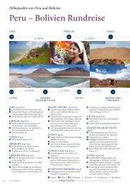 Peru – Bolivien Rundreise - Rundreisen