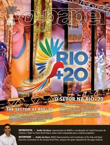 O SETOR NA RIO+20 - Revista O Papel