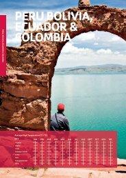 PERU, BOLIVIA, ECUADOR & COLOMBIA - STA Travel Hub
