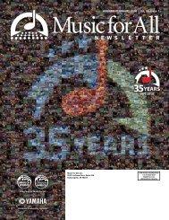High School Newsletter - February 2010 - Music for All