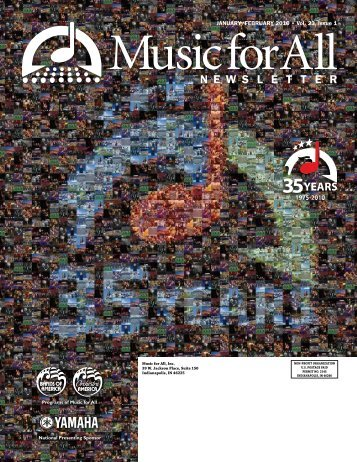 High School Newsletter - February 2010 - Music for All
