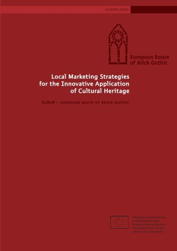 Local Marketing Strategies for the Innovative Application of Cultural ...