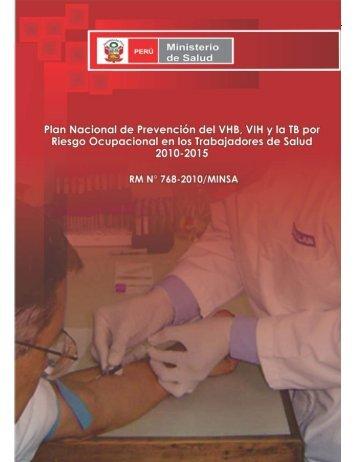 Plan Nacional de Prevención del VHB, VIH y la TB por Riesgo ...