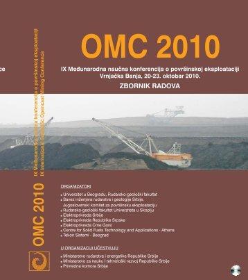 Zbornik radova konferencija OMC 2010
