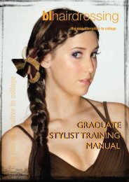 BL/Hair-Graduate Stylist Training manual - blhairdressing - BL ...