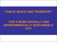 Developing a Vision for Sustainable Transportation - Home