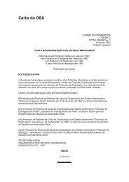 Carta da OEA - Abert