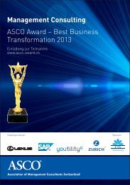 Management Consulting ASCO Award – Best Business ...