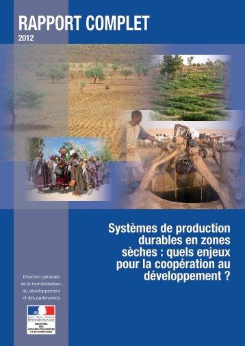 Rapport complet - France-Diplomatie-Ministère des Affaires ...