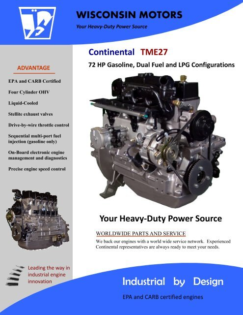 TME27 - Wisconsin Motors