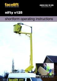 nifty v125 - Facelift