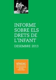 Informe sobre els drets infants 2013