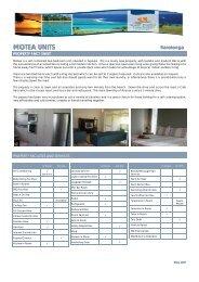 MOTEA UNITS - AUG 2007 - Island Hopper Vacations