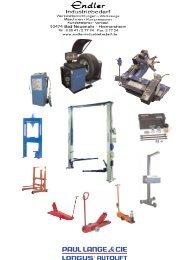 Longus Werkstattausrüstung Nfz - Endler Industriebedarf