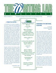 35.5-6 - The Writing Lab Newsletter