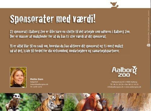 T rykt på Cy clus Offset - 100 % dansk genbrugspapir. - Aalborg Zoo