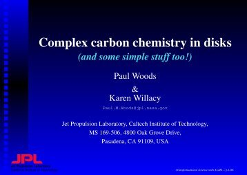Complex carbon chemistry in disks