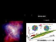 u, d - 原子核物理グループ - 東北大学