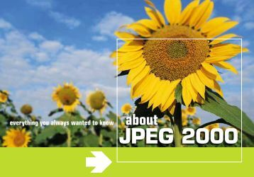 Everything you always wanted to know about JPEG 2000 - intoPIX
