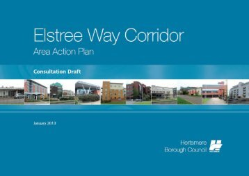 Elstree Way Area Action Plan - Hertsmere Borough Council