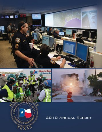 2010 Annual Report - Harris County Homeland Security ...