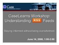 full presentation - Blog@Case