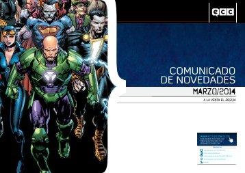 COMUNICADO DE NOVEDADES