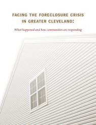 facing the foreclosure crisis in greater cleveland - Blog@Case ...