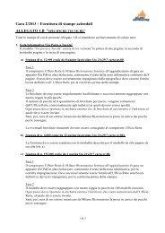 Allegato 1B specifiche tecniche - Milano Ristorazione