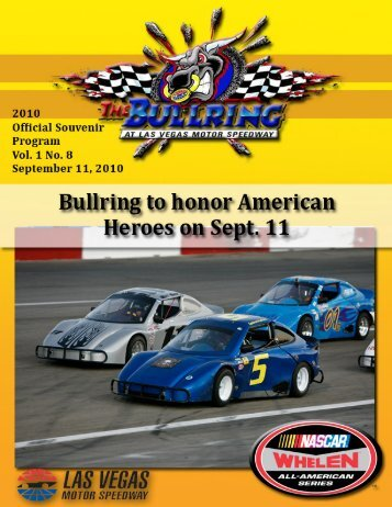 Program Template_September 11 - Las Vegas Motor Speedway