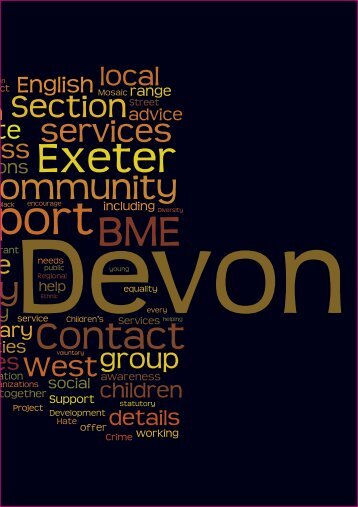 BME Directory - Devon County Council