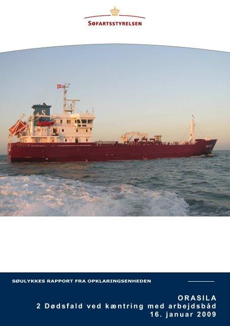 ORASILA - Søfartsstyrelsen