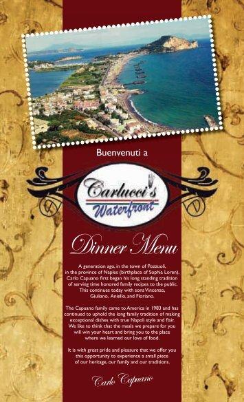 Carlo Capuano - Carlucci's Italian Grill