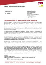 Circolare 8/2012 - Fondo Pegaso