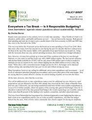 Everywhere a Tax Break - Iowa Fiscal Partnership