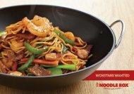 WOKSTARS WANTED - Noodle Box
