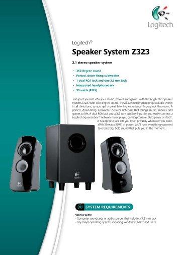Speaker System Z323 - ACME