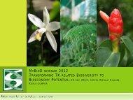 Sarawak Biodiversity Centre - NRE
